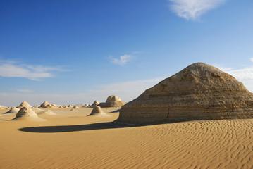 Tent valley desert