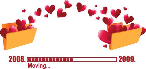 moving Love Folder