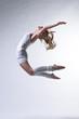beautiful modern style dancer