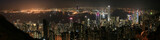 Hongkong (Hong Kong), China - Skyline at night poster