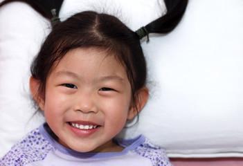 Portrait of a little Asian girl