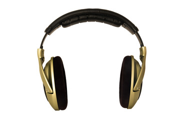 headphones Front, with an empty space of the middle