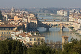 View On Arno River - Florence, Italy poster