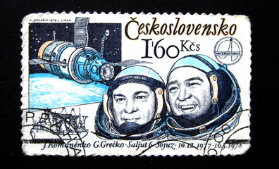 Soyuz-6 team