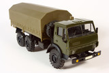 Scale metal model of a lorry poster