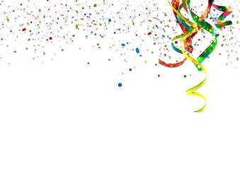 Party, Fete, Karneval, Geburtstag - Einladungskarte