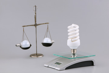 Old both new - bulbs and scales