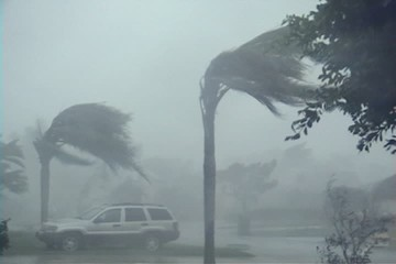 100 MPH Hurricane Winds and Rain