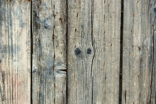 Weathered wooden fence texture