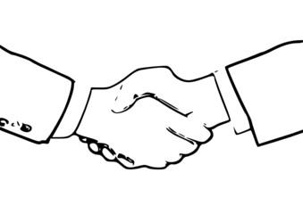 Serrer la main