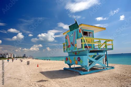 Leinwandbild Motiv South Beach Miami, Florida