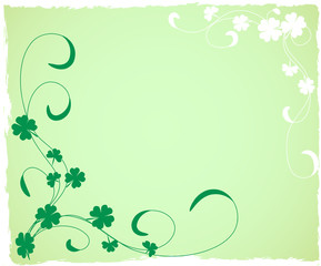 a grungy saint patrick's day background