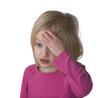 Sick Child With Headache.