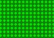 ひし形模様 緑
