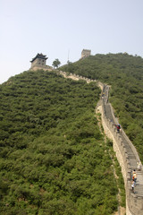 the great wall near Peking, China