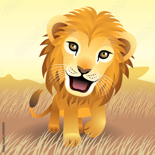 Baby Animal collection: Lion. More animals in my gallery.