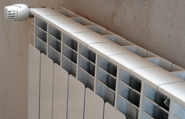 Radiator with thermal adjust head