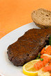 Roastbeef Steak mit Brokkoli,Karotten
