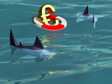 Saving the Euro - Sharks Prey poster