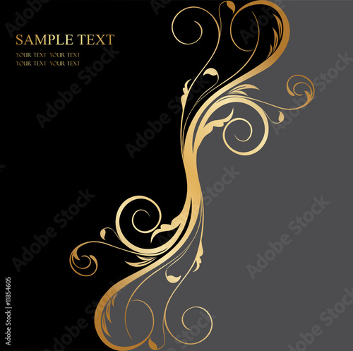 This is the hot pant default black gold Wallpaper, Background,