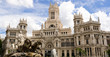 canvas print picture Cibeles statue in Madrid