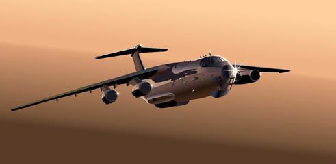 Vector cargo airplane