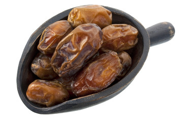 scoop of dried medjool dates