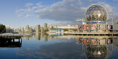 Vancouver - False Creek Panorama