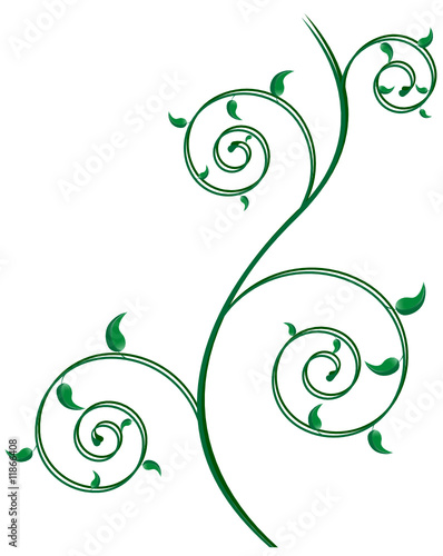 flower clip art images. abstract spiral flower; clip-