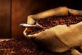 Fototapeta brązowy - kofeina - Kawa / Herbata / Czekolada