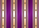 Striped decorative lilas-coffee background (vector) poster