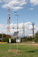 The measuring and telecommunication equipment