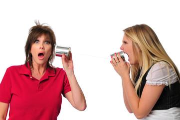 Metaphor showing communication between generations