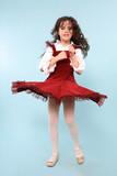 flared skirt poster