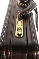 Briefcase lock end view