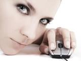 cyber girl poster