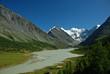 Mountain lake Ak-kem, Altai, Russia
