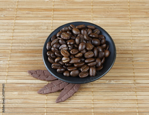wellness & spa decoration - coffee beans