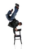 Hip Hop Man Performing poster