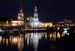Paisaje nocturno de Dresde