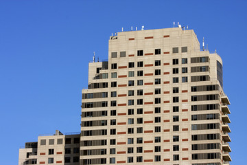 Modern high rise building