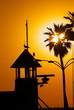 Sunset at Redondo Beach California