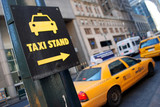 Fototapety New York taxi stand