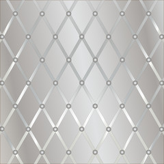 Silver geometric background (vector)