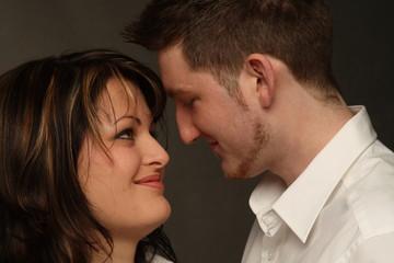 Jung verliebtes Paar