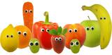 Friendly Fruit and Vegetables - Fine Art prints