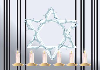 Yom kha Shoa (memory of  Holocaust)