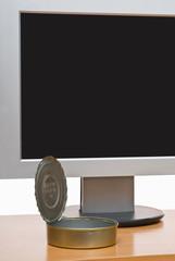 Monitor and tin