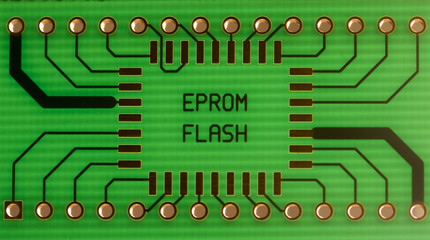 EEPROM / FLASH memory adapter