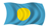 palau fahne flag poster
